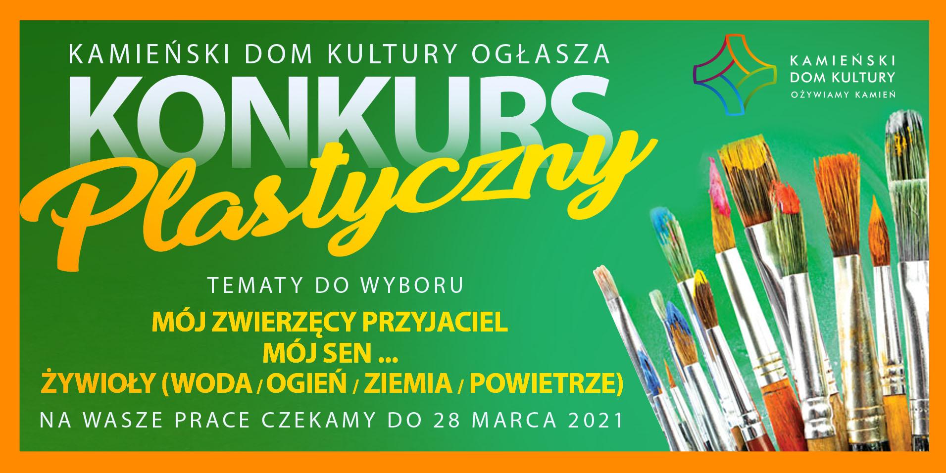 KONKURS PLASTYCZNY ONLINE 2021