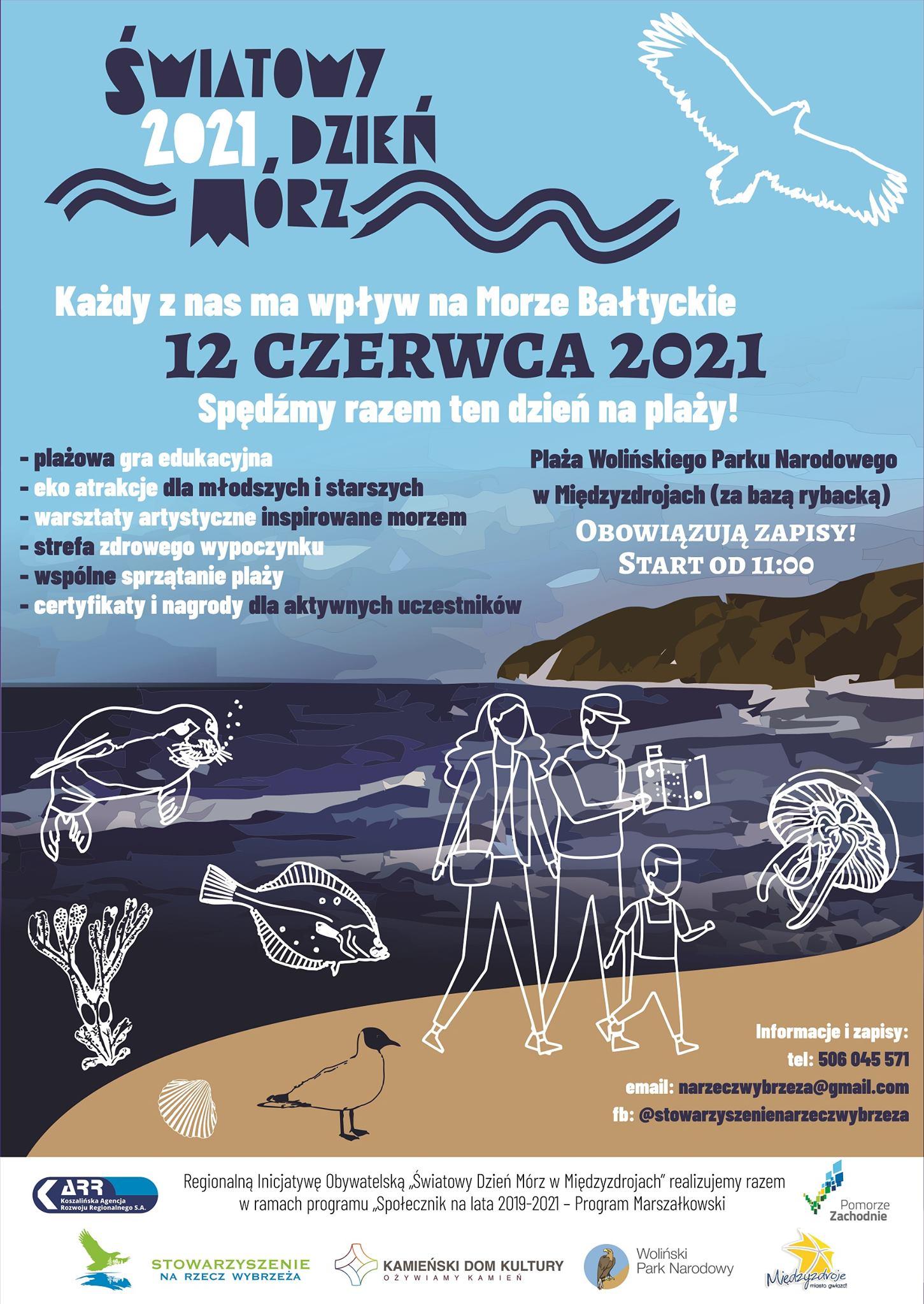 Kamieński Dom Kultury na Światowym Dniu Mórz w Międzyzdrojach, już 12 czerwca!